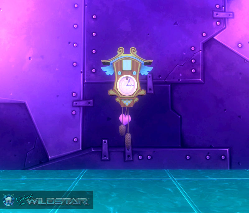 Wildstar Housing - Clock (Aurin)