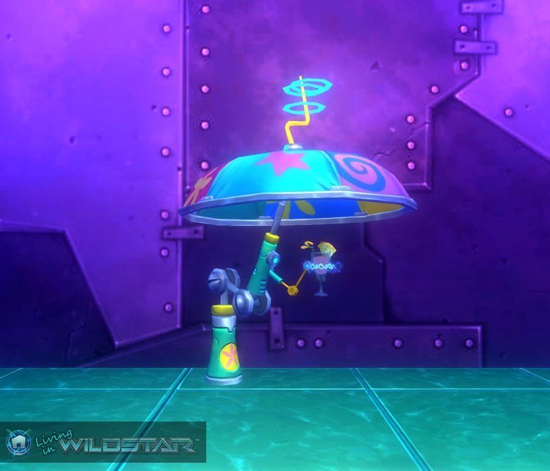 Wildstar Housing - Awesome Umbrella