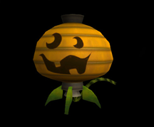Wildstar Housing - Chuckling Pumpkin Lantern