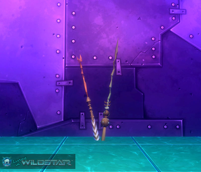 Wildstar Housing - Spears (Draken)