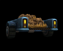Wildstar Housing - Effigy Laden Wagon