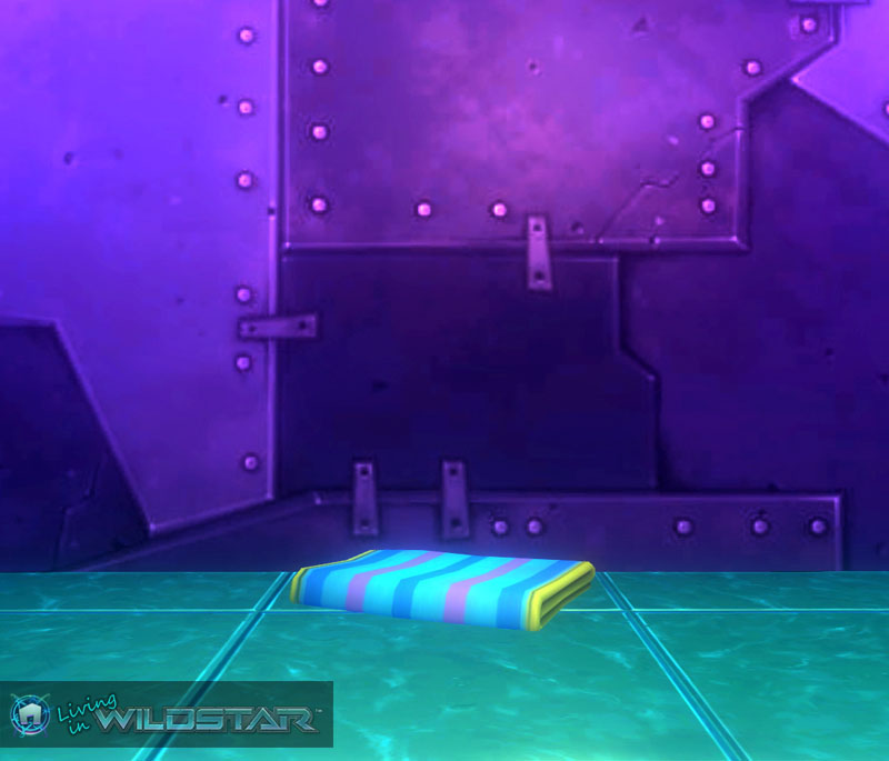 Wildstar Housing - Folded Beach Towel (Pastel)