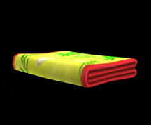 Wildstar Housing - Folded Beach Towel (Seaweed)