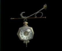 Wildstar Housing - Hanging Clock