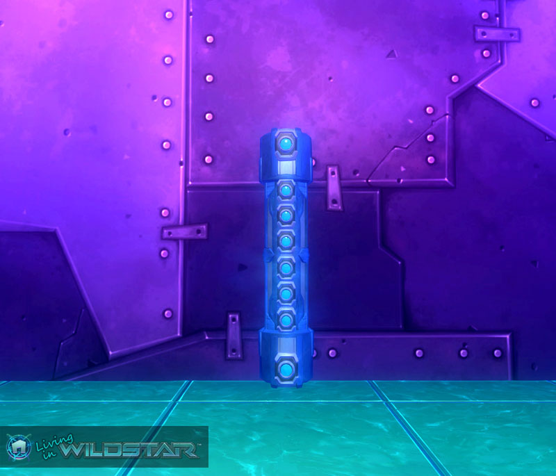 Wildstar Housing - Holographic Projector (Mounted)