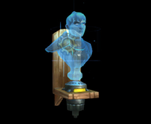 Wildstar Housing - Holographic Bust (Exile)
