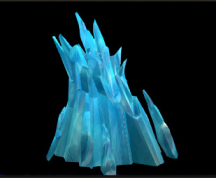 Wildstar Housing - Loftite Formation (Blue)