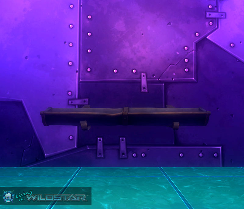 Wildstar Housing - Rain Gutter (Long)