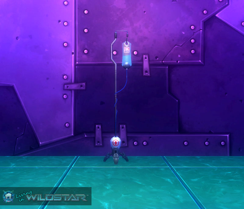 Wildstar Housing - Medical Drip