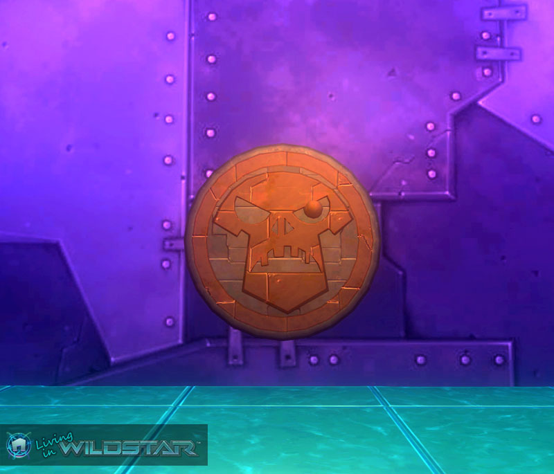 Wildstar Housing - Metal Sigil (Redmoon)