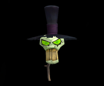 Wildstar Housing - Shade's Eve Mask (Top Hat)