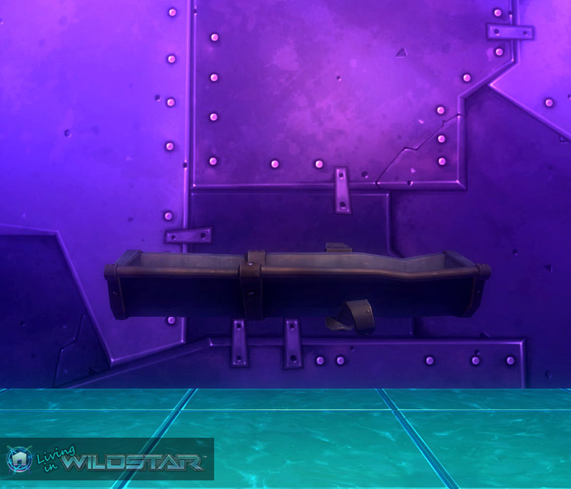 Wildstar Housing - Rain Gutter (Short)