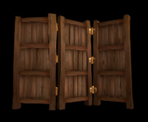 Wildstar Housing - Triple Wall Divider (Dark)