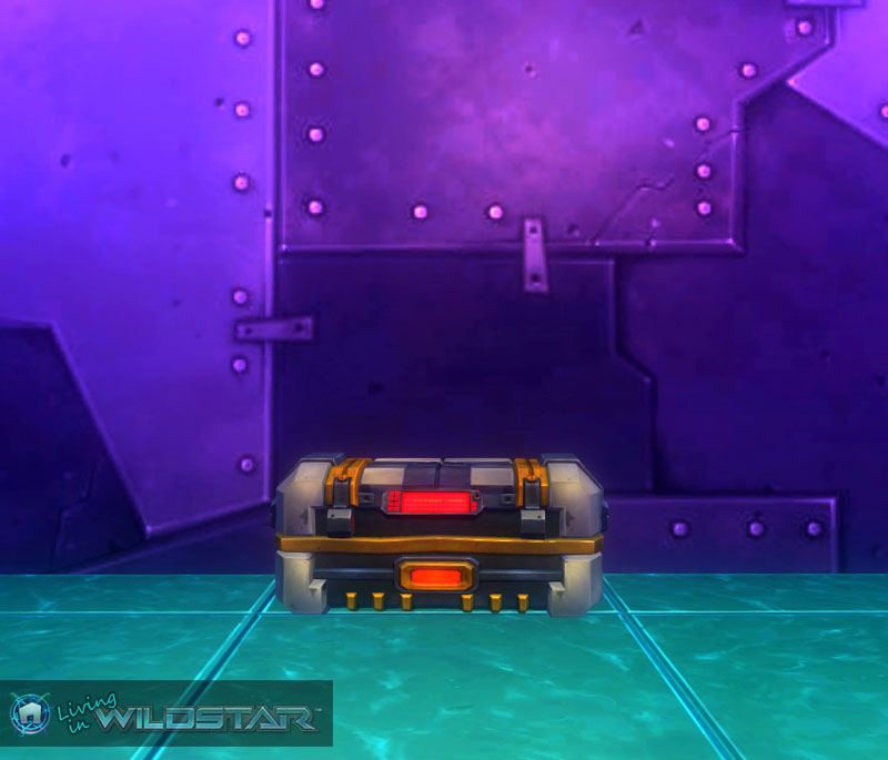 Wildstar Housing - Weapons Crate (Dominion)