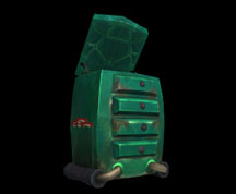 Wildstar Housing - Open Dresser (Garage)