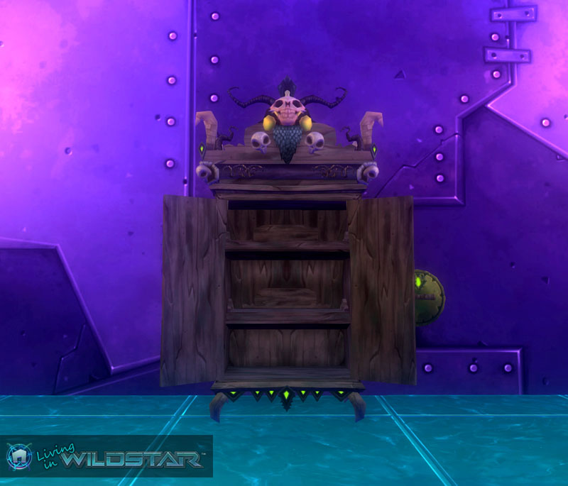 Wildstar Housing - Open Cabinet (Draken)