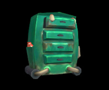 Wildstar Housing - Closed Dresser (Garage)