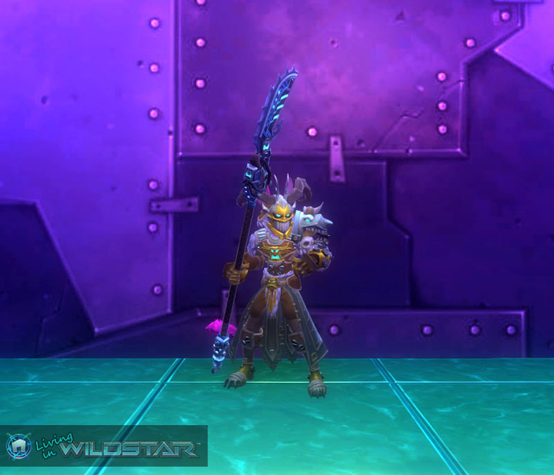 Wildstar Housing - Aurin Dungeon Crawler (Male)