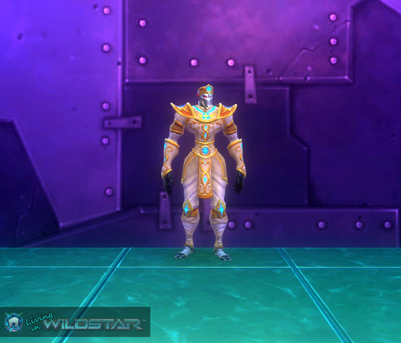 Wildstar Housing - Celestial Royal (Mechari Male)