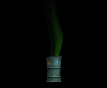 Wildstar Housing - Bubbling Toxic Barrel (Green)