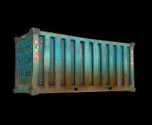 Wildstar Housing - Container (Corrugated-Steel)