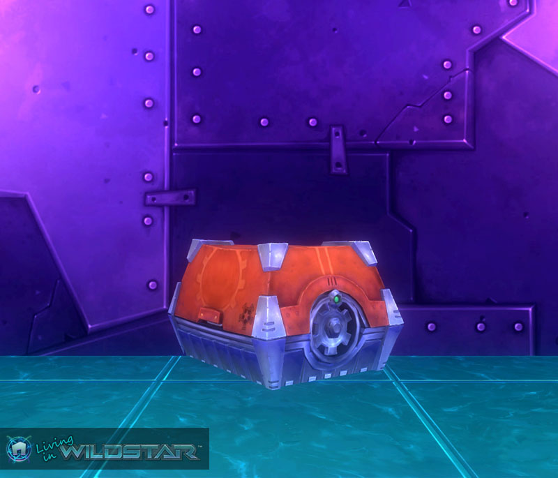 Wildstar Housing - Locked Chest (Exile)
