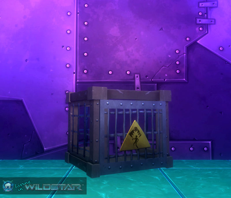 Wildstar Housing - Trap (Metal)