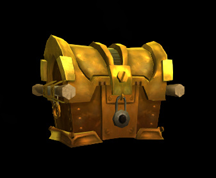 Wildstar Housing - Padlocked Chest (Golden)