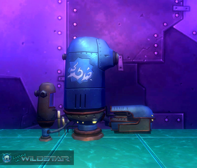 Wildstar Housing - Humidifier Chest (Protostar)