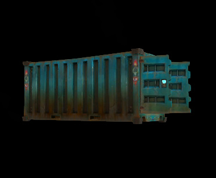 Wildstar Housing - Shipping Container (Metal)