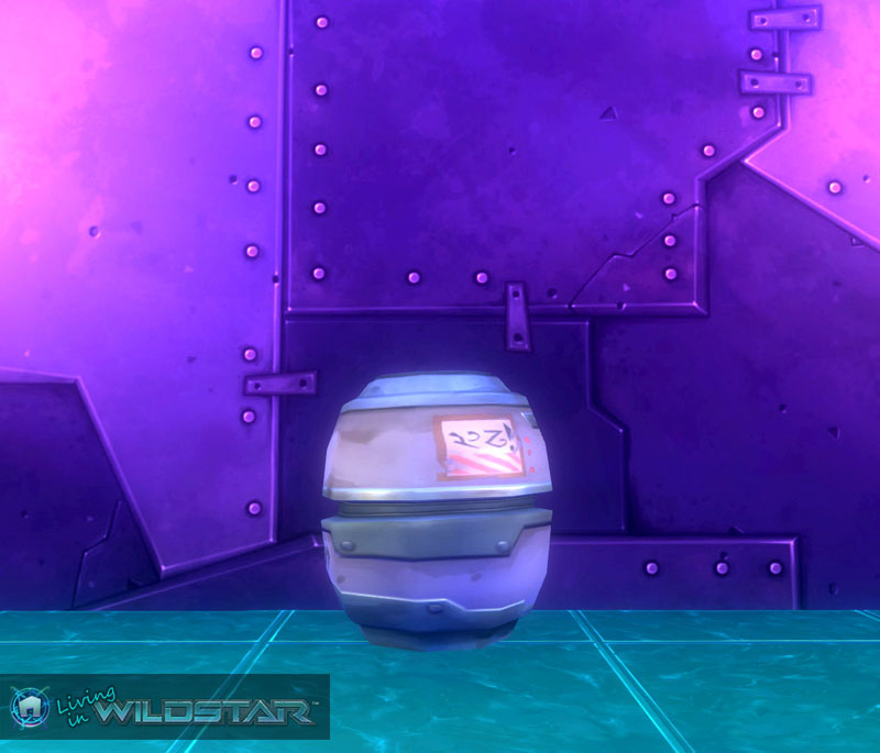 Wildstar Housing - Keg (Silver)