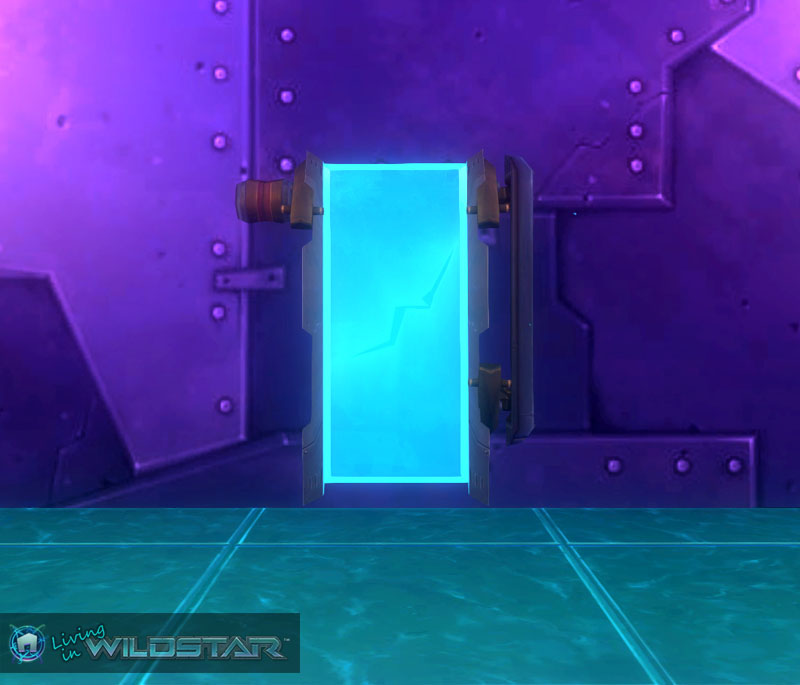 Wildstar Housing - Redmoon Monitor (Taller)