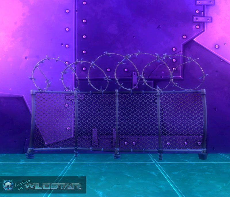 Wildstar Housing - Barbed Fence (Protostar)