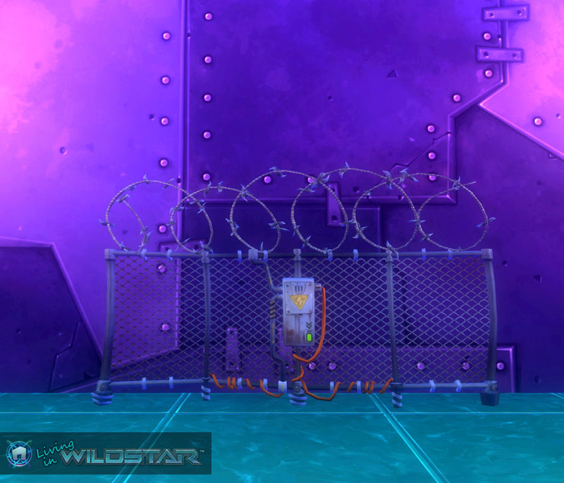 Wildstar Housing - Electric Fence (Protostar)
