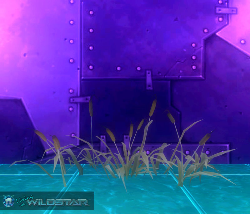 Wildstar Housing - Bulrush (Yellow Green)