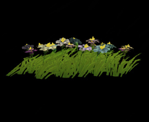 Wildstar Housing - Garden Flower Clump (Style 1)