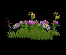 Wildstar Housing - Garden Flower Clump (Style 3)