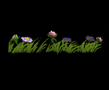 Wildstar Housing - Garden Flower Strip (Style 1)