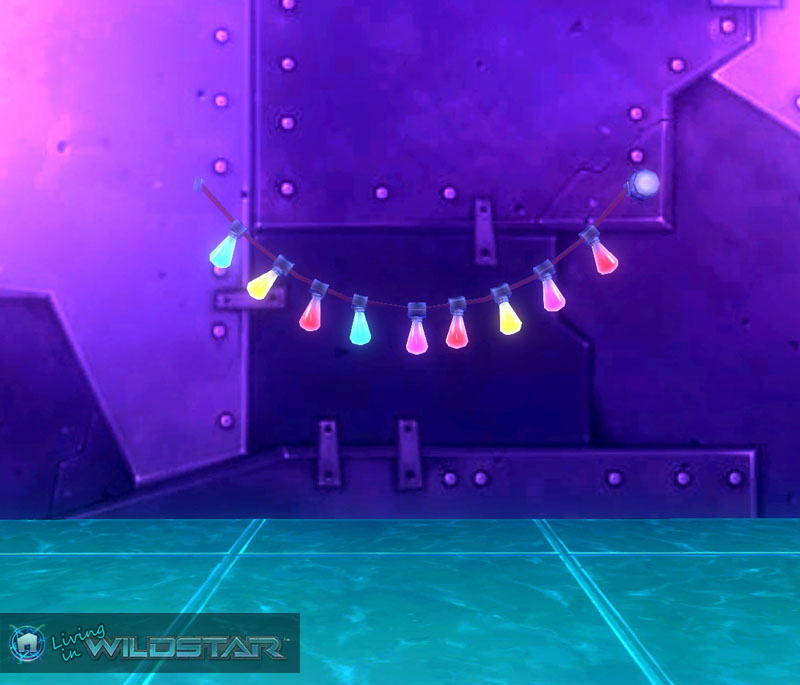 Wildstar Housing - String Lights (Colored)