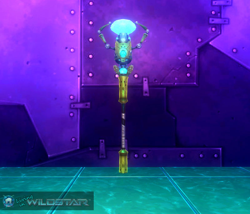 Wildstar Housing - Lamp Post (Ikthian)