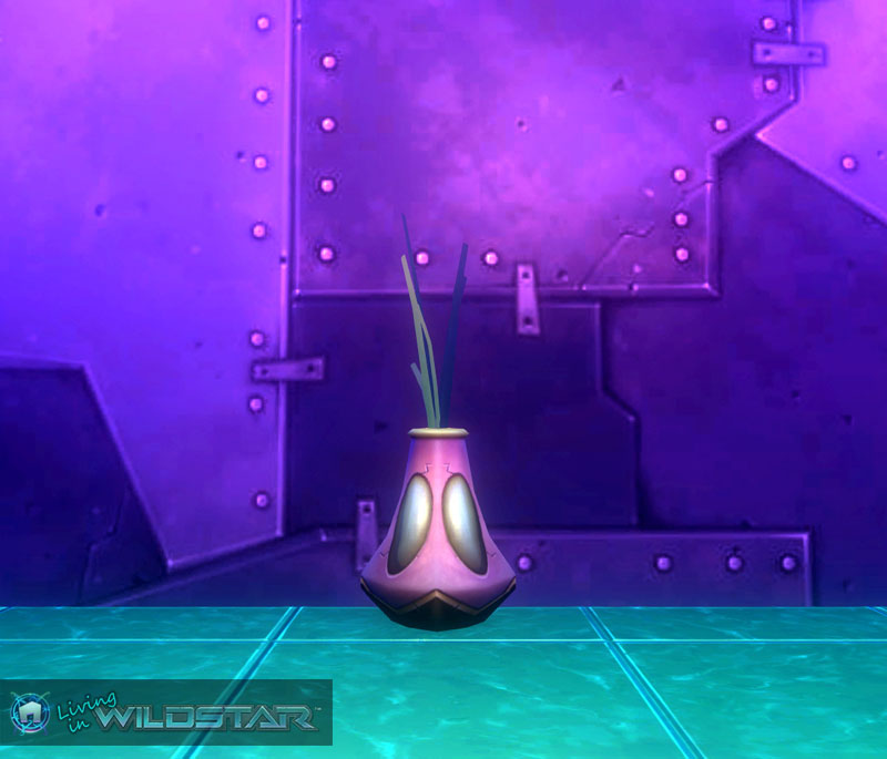 Wildstar Housing - Flower Vase (Decorative, Pink, Aurin)