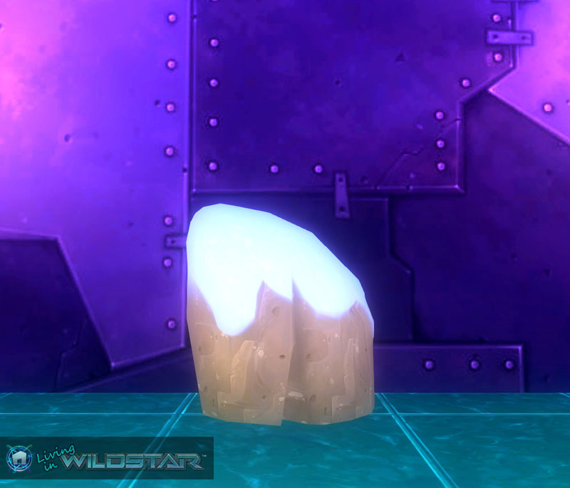 Wildstar Housing - Snow-Dusted Sandstone (Tall)