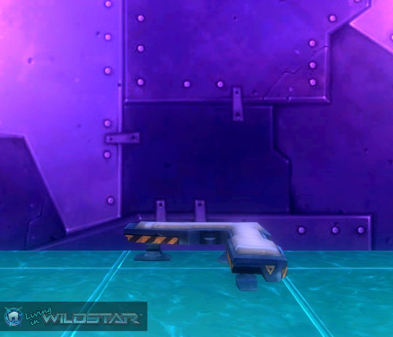 Wildstar Housing - Shiphand Bench (Corner)