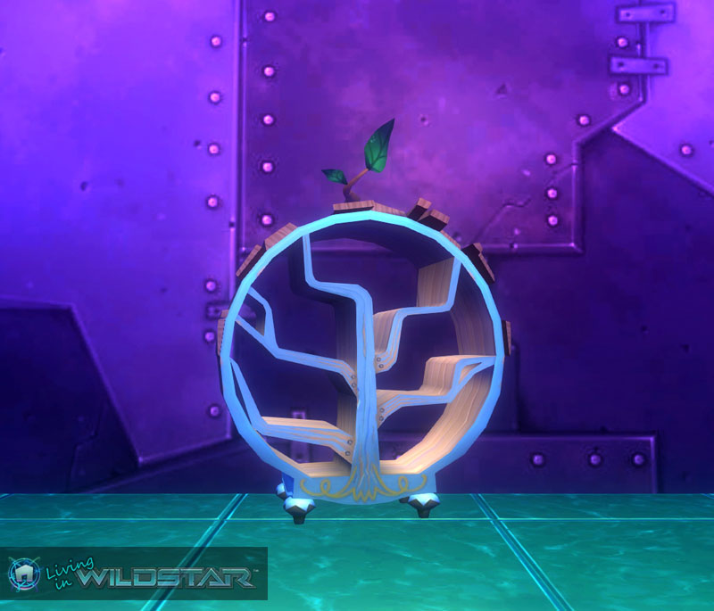 Wildstar Housing - Bookcase (Aurin)