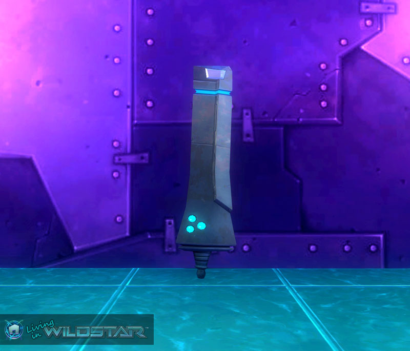 Wildstar Housing - Gunner Ship Fin
