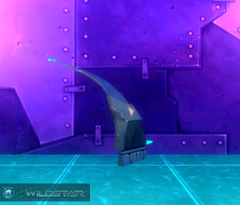 Wildstar Housing - Racer Ship Wing (Left)