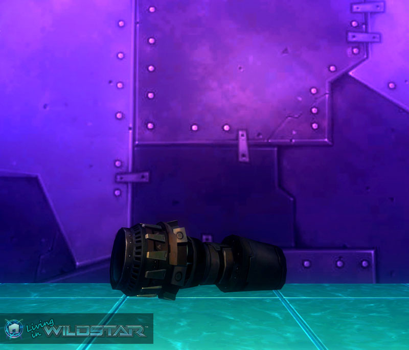 Wildstar Housing - Spaceship Thruster