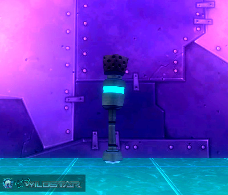 Wildstar Housing - Tech Shuttle Antenna