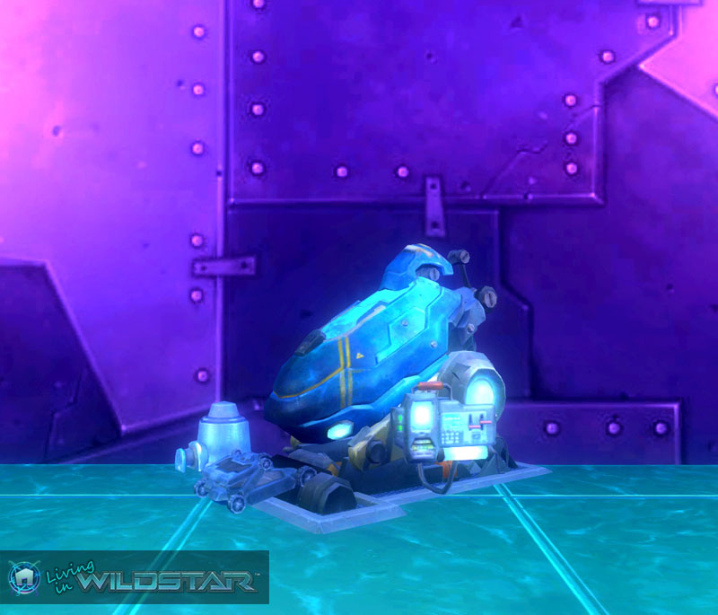 Wildstar Housing - Cryo Pod (Arkship)