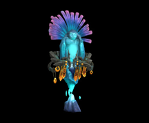 Wildstar Housing - Relic Statue with Headdress (Torine)